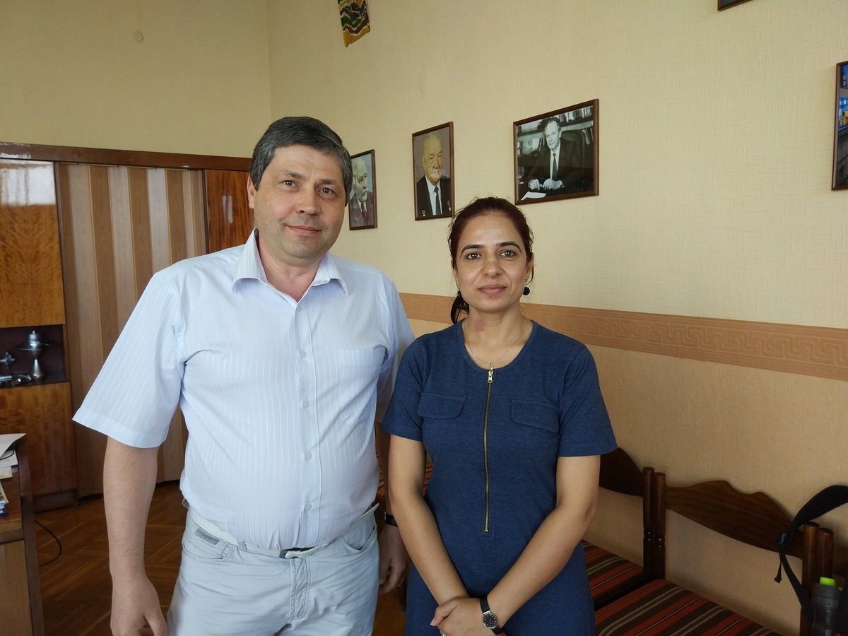 ІПМаш відвідала доктор Нєєлам Чеоундхарі (Індія)