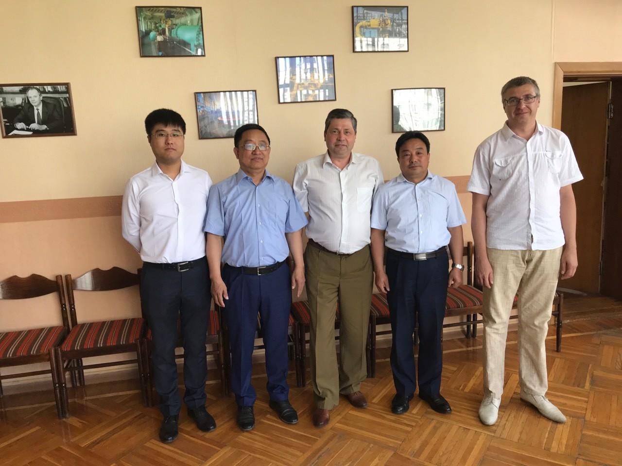 Інститут відвідали співробітники китайської компанії Xianchu Energy Development Group (м. Циндао, КНР)