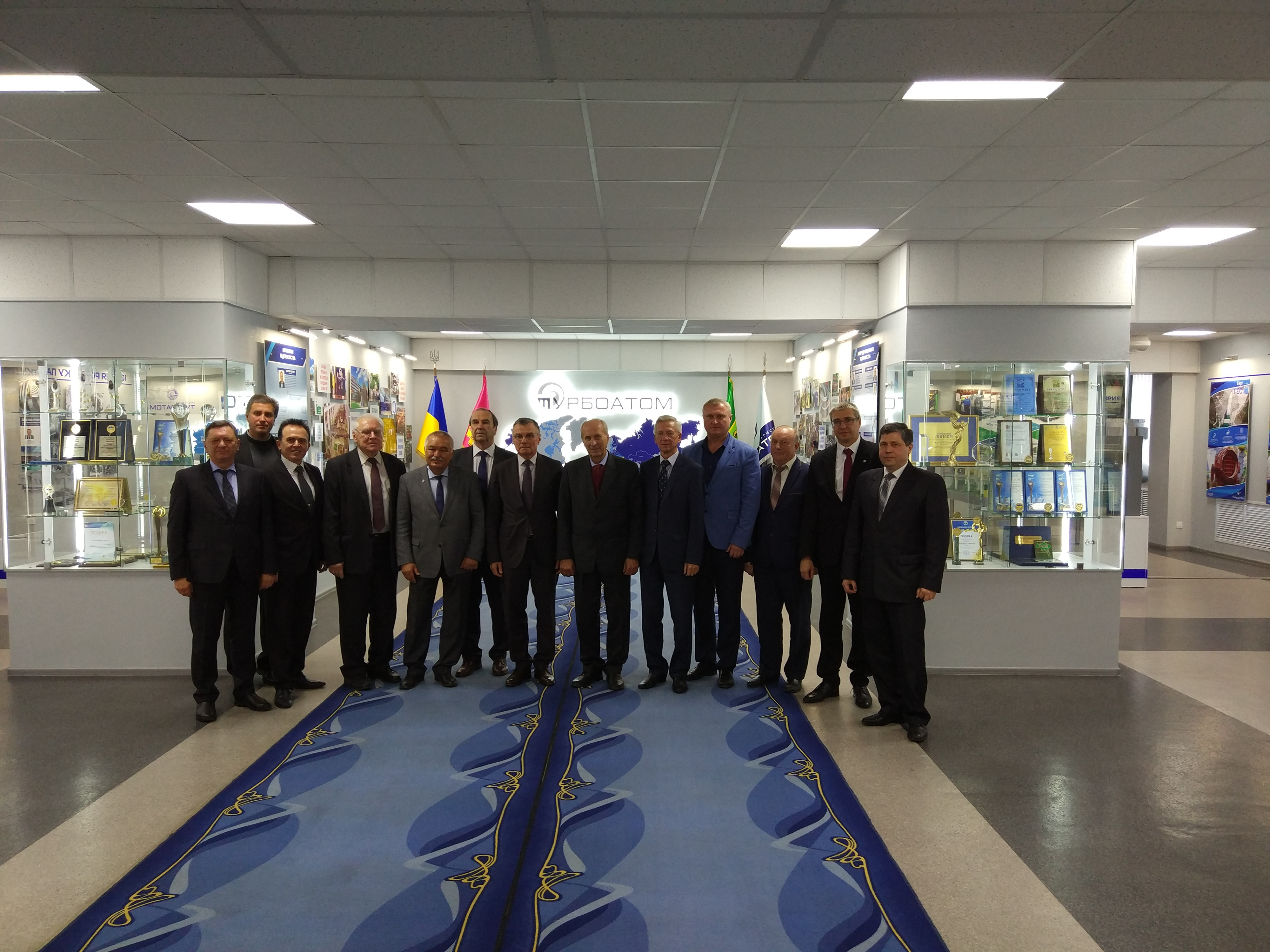 Відбулося установче засідання Координаційної ради з організації спільних робіт наукових установ НАН України та АТ «Турбоатом»