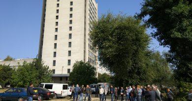 В ІПМаш НАН України відбулося протипожежне тренування