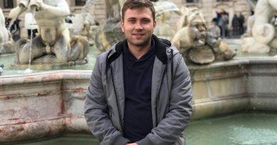 Вітаємо з ювілеєм старшого наукового співробітника відділу гідроаеромеханіки енергетичних машин Романа Андрійовича Русанова!